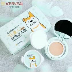 کوشن دوقلو ارویل A'ERVEAL اورجینال کره ای کوشن های اورجینال کره ای ( پنکک مایع ) فروش عمده لوازم آرایشی و آرایشگاهی ارزان بازار