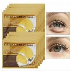 ماسک طلا و کلاژن دور چشم  | collagen cristal eye mask